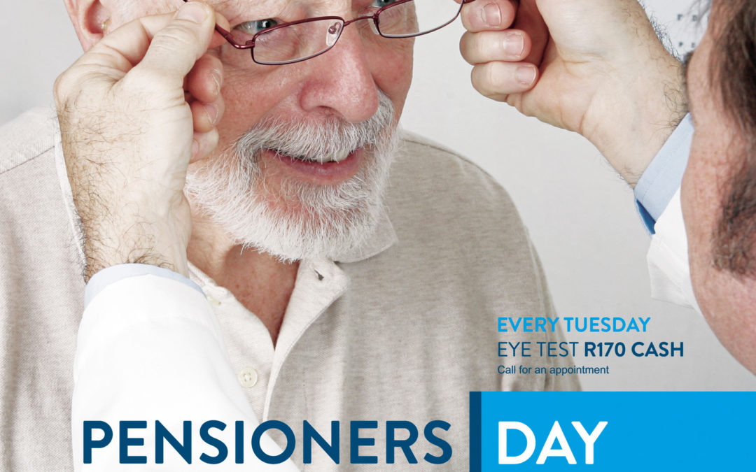Pensioners Day Offer