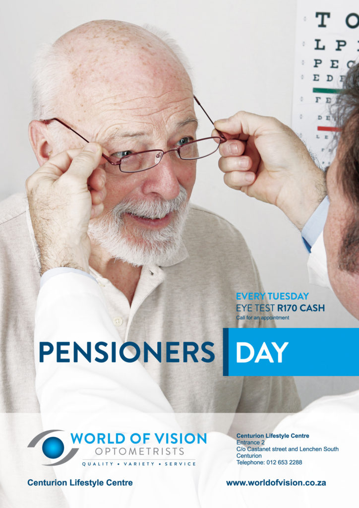 World of Vision - Pensioners Day Offer