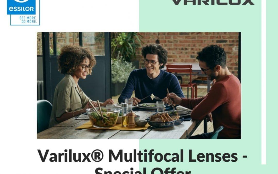 Varilux Multifocal Lenses – Special Offer